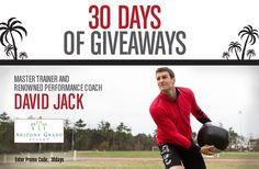 "HEY, FITNESS PROFESSIONALS! ReebokONE presents 30 DAYS OF GIVEAWAYS sweepstakes! From August 8 to September 5, ReebokONE is giving away a $100 Reebok.com gift card to one lucky winner every day who signs up as a new member of the community.  One Grand Prize winner will receive a trip for 2 to Arizona Grand Resort to train with master trainer and renowned performance coach David Jack and $500 of Reebok product per month for a WHOLE YEAR! Join now by entering promo code ""30Days"" when u sign…"