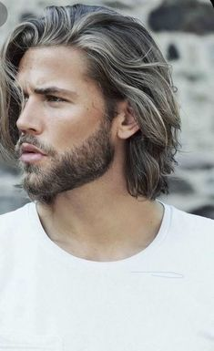 Medium Length Hair Men, Medium Long Hair, Medium Hair Cuts, Long Hair Cuts, Medium Hair Styles, Long Hair Styles, Thin Hair, Mens Mid Length Hairstyles, Top Hairstyles For Men
