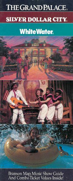 The Grand Palace theatre's 1992 inaugural year brochure #SilverDollarcity #Branson #Missouri #Herschend