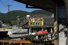 Best FRESH clam chowder in the world hands down is at Old Oregon Smokehouse in Rockaway Beach Oregon!