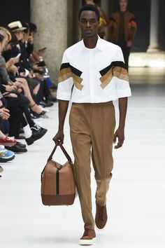 Neil Barrett Spring 2017 Menswear Fashion Show                                                                                                                                                                                 More