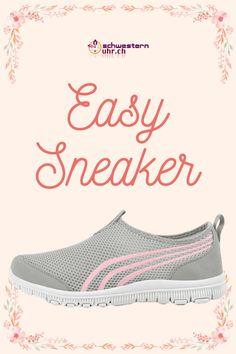 Frühlingsgefühle 🤩🌷Easy Sneaker. Die Sneaker für Pflegepersonal sind super bequem und ganz leicht. So kommst du problemlos durch den ganzen Tag. Gönne deinen Füssen etwas - Gehen wie auf Wolken. Nie wieder müde Füsse!  Jetzt bei schwesternuhr.ch bestellen - Ohne Versandkosten. Schweizer Unternehmen.   #schwesternuhrch #schwesternschuhe  #sneaker #easysneaker #pflege Super, High Tops, Easy, High Top Sneakers, Fashion, Comfortable Work Shoes, Comfortable Shoes, Shoes For Work, Comfortable Sneakers
