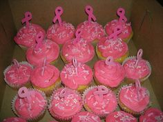 Pink Cupcakes for Race for the Cure