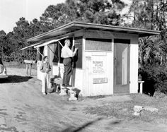 Early convenience store! 'Village store at Melbourne Village: Brevard County, Florida by State Library and Archives of Florida, via Flickr'