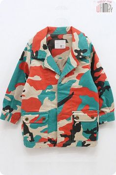 Funky Camo Spring Jacket