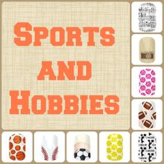 Sports and Hobbies nails