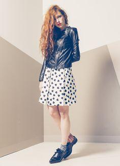 Produzione e vendita pronto moda donna  collezione spring e summer 2016. #anycase #whiteskirt #ecocoat #prontomoda #hearts