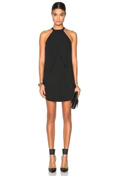 Image 1 of A.L.C. Easton Dress in Black
