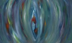 """Seven chakra 's within""  Acrylics by Dianne Rini"