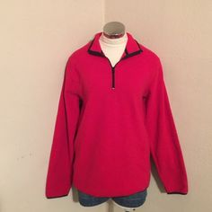 small fleece pullover Small fleece pullover. Half zip. Excellent condition.  trades  fast shipping ☑️ offers Old Navy Tops