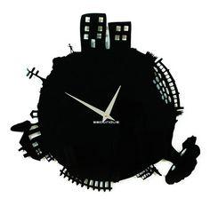 Industrial clock modern wall clock wall clocks  by ModernWallClock, $79.88