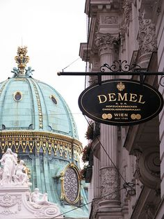Cafe Demel, Vienna, Austria: Once a purveyor to the Imperial and Royal court of Austria-Hungary, this chocolatier/ pastry shop serves the finest desserts in all of Austria. (Photo Credit Athewinn via Flickr)