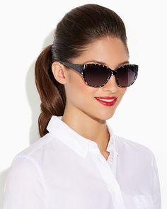 charming charlie   Wailea Whipstitch Sunglasses   UPC: 410007027434 #charmingcharlie