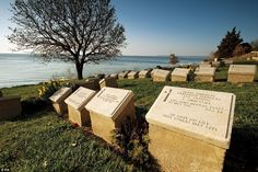 The Anzac beach cemetery in Gallipoli, Turkey, which also features in the new book. The cemetery has 391 casualties buried there, mainly from the United Kingdom, Australia and New Zealand.The eight month campaign in Gallipoli was fought by Commonwealth and French forces in an attempt to force Turkey out of the war in April 1915. The cemetery was created on the first day of the Anzac landings until the evacuation. There are 369 identified casualties buried there, as well as 33, who have ...