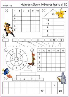 The Growing and Shrinking Number Patterns (C) Math Worksheet from ...