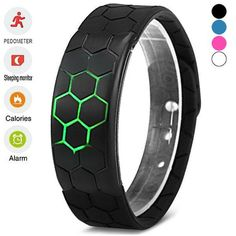 Bluetooth Smart Wrist Band Bracelet Watch Health Pedometer for Android IOS #Unbranded