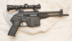 Kel-Tec PLR-16 pistol in .223 Is it just me or does this look like Han Solo's blaster