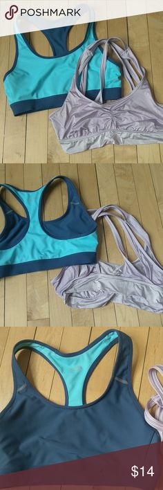26126eed0 Two sports bras champion aerie small EUC Both are size small