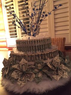 Dollar Money Cakes by AlmightyDollar on Etsy