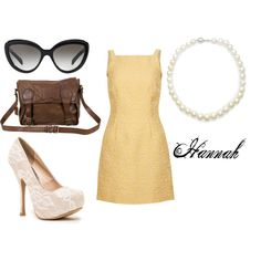 """""""Hannah"""" by thegreaterfool on Polyvore"""