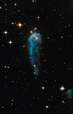 IRAS 20324: Evaporating Protostar Image Credit: NASA, ESA, Hubble Heritage Team (STScI/AURA), and IPHAS Explanation: Will this caterpillar-shaped interstellar cloud one day evolve into a butterfly-shaped nebula? No one is sure. What is sure is that IRAS 20324+4057, on the inside, is contracting to form a new star.