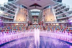 The world's largest cruise ship Harmony of the seas 12