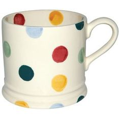Polka dot mugs!