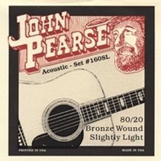 John Pearse 160SL Acoustic 8020 Bronze Wound slightly light -- Check this awesome product by going to the link at the image.Note:It is affiliate link to Amazon.