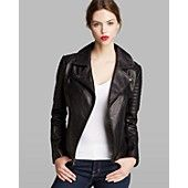 DKNY Jacket - Jenna Leather Moto