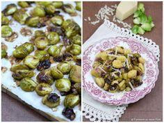Experimente aus meiner Küche: Ofengerösteter Rosenkohl - pur oder mit Gnocchi