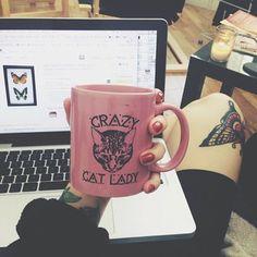 belt cats hipster grunge mug coffee hipster wishlist
