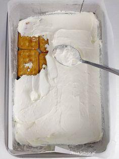 Proste ciasto rafaello bez pieczenia Sweet Recipes, Cake Recipes, Yummy Recipes, Nutella, Delicious Desserts, Yummy Food, Polish Recipes, Food Cakes, Cake Cookies