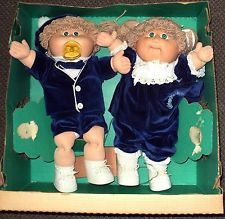 Two 1985 Cabbage Patch Kids Twins eBay