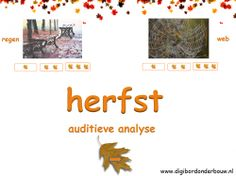 Digibordles: Herfst auditieve analyse (lettergrepen klappen) http://digibordonderbouw.nl/index.php/themas/herfst/herfstalgemeen/viewcategory/170