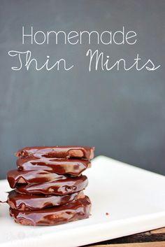 thin mints      1-1/2 C. flour     ½ C. cocoa     ½ t. salt     ½ C. butter     1 C. sugar     1 egg     ½ t. mint extract