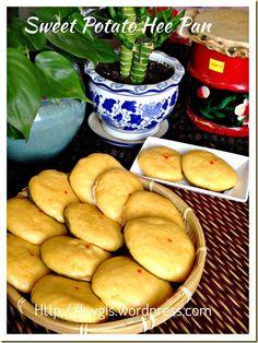 Another Hee Pan Recipe–Sweet Potatoes Hee Pan (番薯喜板)#guaishushu#kenneth_goh#sweet_potatoes_hee_pan  #番薯喜板