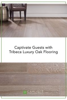 A floor should have character - and that character should reflect you and your home's personality. With a hip vibe from the on-trend gray tones, this Tribeca Rift & Quartersawn White Oak will match the energy of your home perfectly. #whiteoak #flooring #homeredesign Wide Plank Flooring, Oak Flooring, White Oak Floors, Luxury, Personality, Gray, Character, Oak Wood Flooring, White Oak Hardwood Flooring