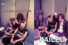 Ruki,Kai y Reita -The GazettE