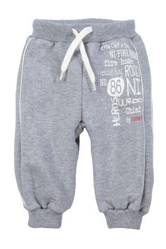 Sport / Homewear - leander nb sweat pant wr 412 - Grey Name it newborn promotion on MonShowroom.com Toddler Pants, Toddler Boy Outfits, Kids Outfits, Boys Joggers, Girl Trends, Boys Pajamas, Boys Wear, Kids Fashion Boy, Winter Kids