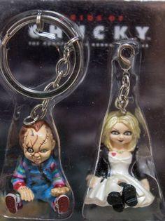 Bride of Chucky Tiffany Key Chain Universal Studios Japan Dream Rush CHILD PLAY