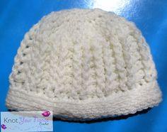 Ravelry: Ribbed Baby Hat free crochet pattern by Teri Heathcote