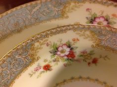 Noritake China Occupied Japan Cerulean Place by Andrewtiques