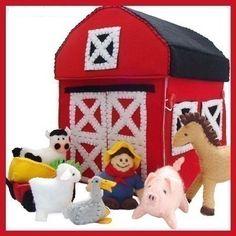 Country Farm - Felt Toy