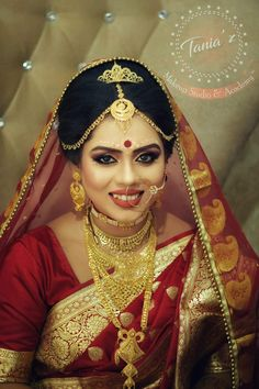 Fulfill a Wedding Tradition with Estate Bridal Jewelry Indian Wedding Couple Photography, Indian Wedding Bride, Bengali Wedding, Bengali Bride, South Indian Bride, Indian Bridal, Bridal Photography, Beauty Photography, Photography Ideas