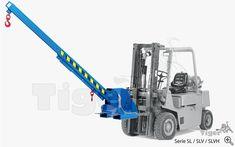 Stapler-Lastarm - Teleskoplader Stapler Lifting Devices, Crane Mobile, Crane Lift, Gantry Crane, Mechanic Garage, 3d Modelle, Modern Garage, Precast Concrete, Metal Tools