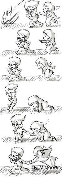 39 Ideas For Fashion Drawing Sketches Men Muslim Couple Quotes, Cute Muslim Couples, Cute Couples, Muslim Men, Muslim Girls, Hijab Drawing, Islamic Cartoon, Couple Sketch, Anime Muslim