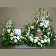 funerals urns with crosses and flowers - Bing images