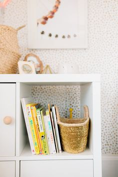 Toddler room storage