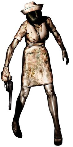 Silent Hill 3 Art & Pictures,  Nurse