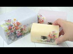 Ryžový papier na decoupage postup video - YouTube